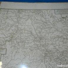 Arte: (M) MAPA CARTE MINERALOGIQUE DES MONTS OURALSKS, VOYAGE PALLAS, FINALES S.XVIII. Lote 188671016