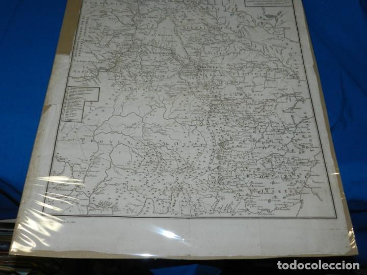 Arte: (M) MAPA CARTE MINERALOGIQUE DES MONTS OURALSKS, VOYAGE PALLAS, FINALES S.XVIII - Foto 3 - 188671016