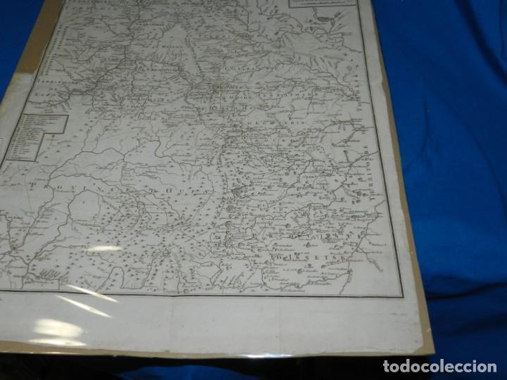 Arte: (M) MAPA CARTE MINERALOGIQUE DES MONTS OURALSKS, VOYAGE PALLAS, FINALES S.XVIII - Foto 7 - 188671016