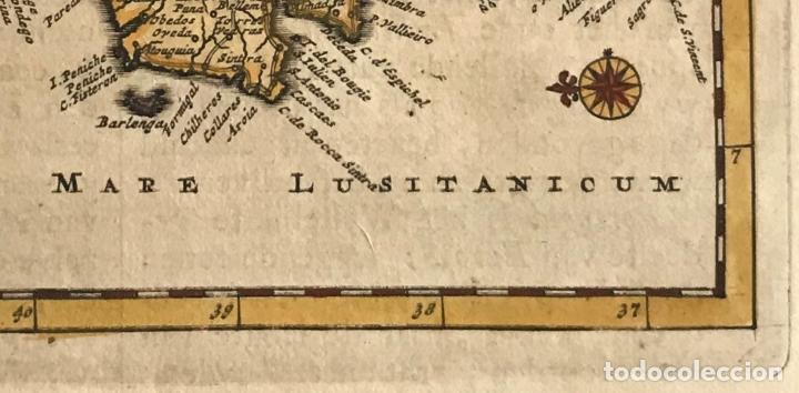 Arte: Mapa de Portugal, 1707. P. van der Aa - Foto 5 - 188758753