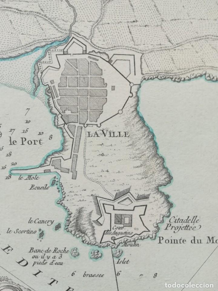 Arte: MAPA DE PALAMOS - J. BELLIN - AÑO 1764 - Foto 2 - 189146952