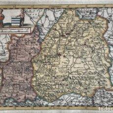 Arte: MAPA DE EXTREMADURA Y CASTILLA (ESPAÑA), 1707. P. VAN DER AA. Lote 189161831
