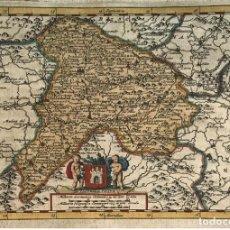 Arte: MAPA DE LA ANTIGUA CASTILLA (ESPAÑA), 1707. P. VAN DER AA. Lote 189249573
