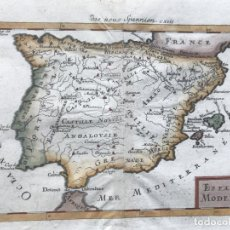Arte: MAPA DE ESPAÑA Y PORTUGAL, 1686. MALLET. Lote 189411365