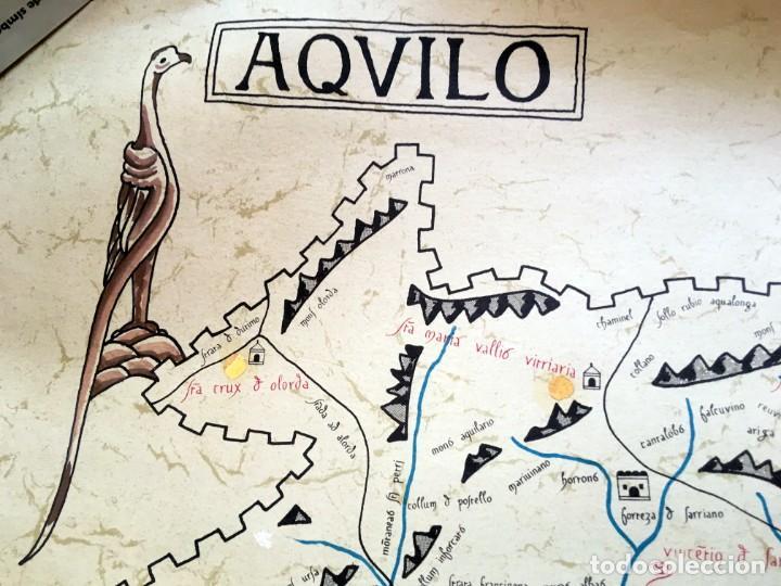Arte: BARCELONA S. XI - LITOGRAFIA MINIADA - Barc[in]a - 69,5x50cm - Antonio Novell Bofarull - Foto 3 - 190014707