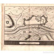 Arte: MAPA DE LERIDA. SIGLO XVIII. Lote 190127531