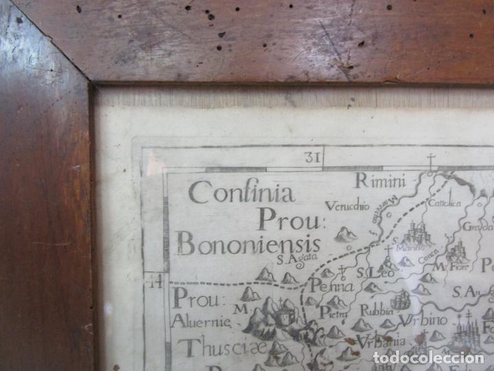 Arte: Mapa Cartográfico - Provincia Piceni (Pisa) - Plancha Atlas Temático Frailes Capuchinos - Año 1711 - Foto 2 - 190213395