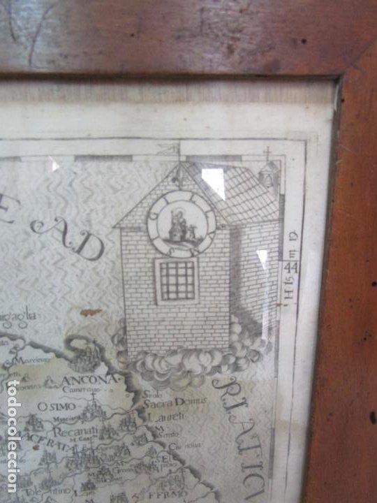 Arte: Mapa Cartográfico - Provincia Piceni (Pisa) - Plancha Atlas Temático Frailes Capuchinos - Año 1711 - Foto 4 - 190213395