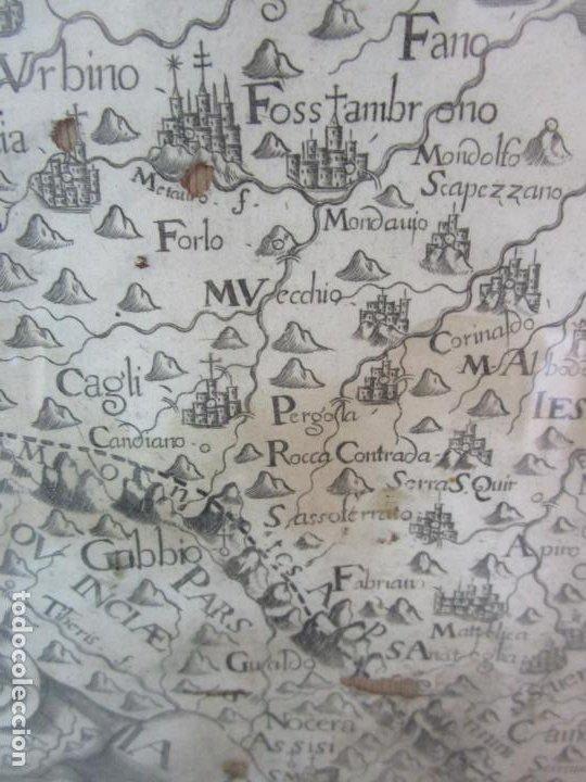 Arte: Mapa Cartográfico - Provincia Piceni (Pisa) - Plancha Atlas Temático Frailes Capuchinos - Año 1711 - Foto 5 - 190213395
