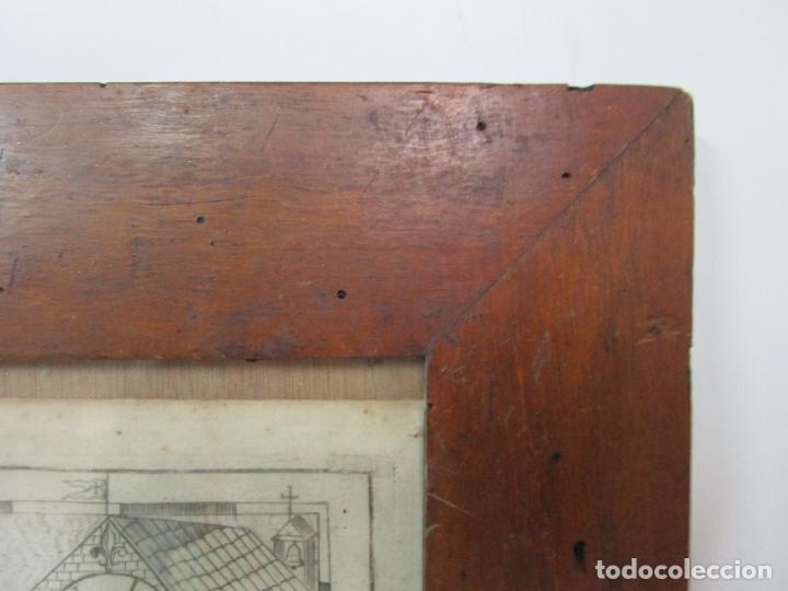Arte: Mapa Cartográfico - Provincia Piceni (Pisa) - Plancha Atlas Temático Frailes Capuchinos - Año 1711 - Foto 7 - 190213395
