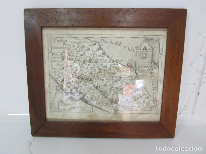 Arte: Mapa Cartográfico - Provincia Piceni (Pisa) - Plancha Atlas Temático Frailes Capuchinos - Año 1711 - Foto 10 - 190213395