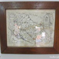Arte: MAPA CARTOGRÁFICO - PROVINCIA PICENI (PISA) - PLANCHA ATLAS TEMÁTICO FRAILES CAPUCHINOS - AÑO 1711. Lote 190213395