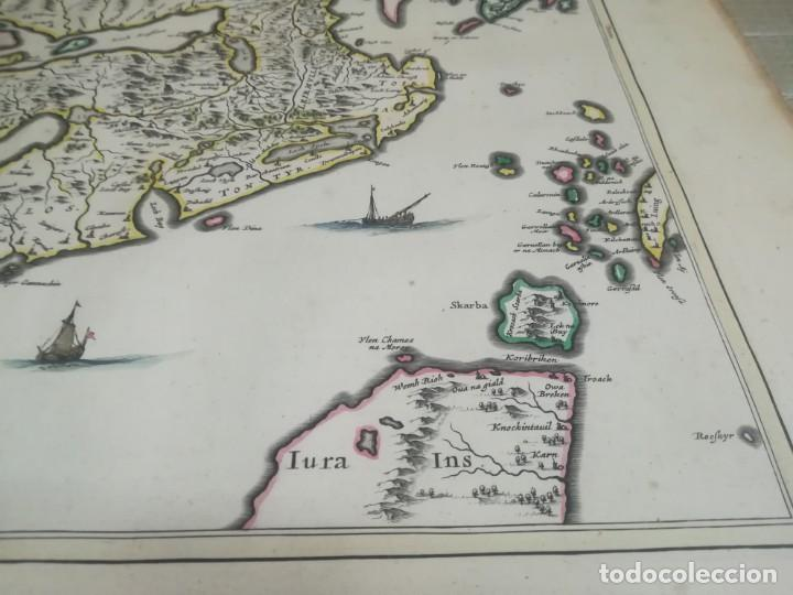 Arte: MUY RARO MAPA DE ESCOCIA LITOGRAFIA DE TIMOTHY PONT COLOREADA SIGLO XVII? MIREN FOTOS - Foto 6 - 190339186