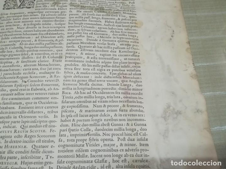 Arte: MUY RARO MAPA DE ESCOCIA LITOGRAFIA DE TIMOTHY PONT COLOREADA SIGLO XVII? MIREN FOTOS - Foto 9 - 190339186