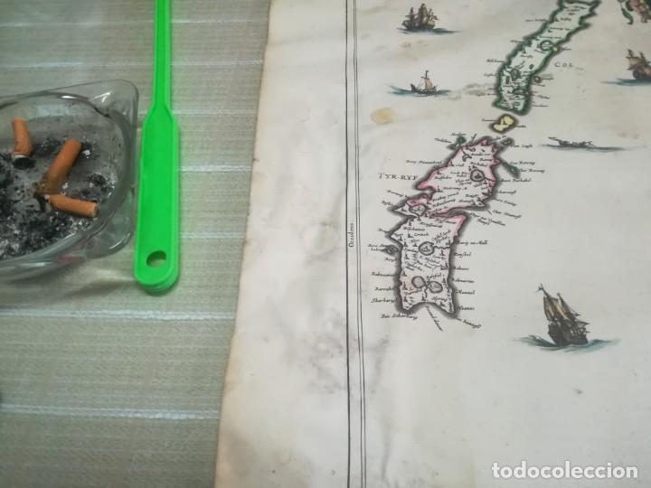 Arte: MUY RARO MAPA DE ESCOCIA LITOGRAFIA DE TIMOTHY PONT COLOREADA SIGLO XVII? MIREN FOTOS - Foto 12 - 190339186