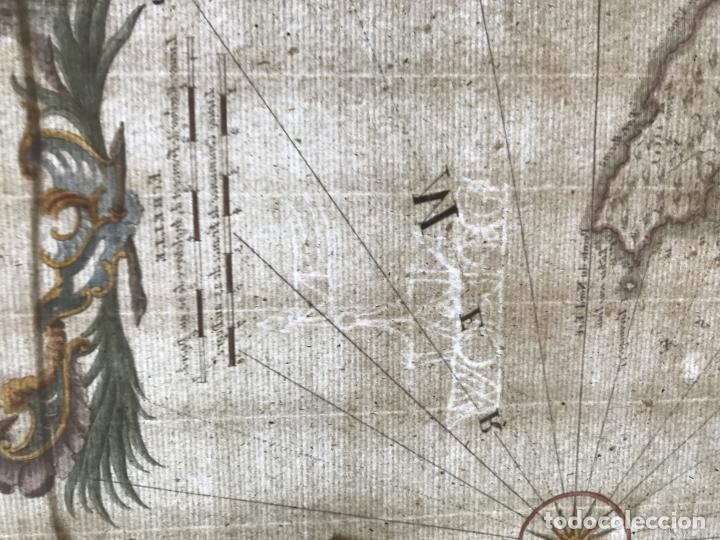 Arte: Gran mapa de las islas Baleares (España), 1756. Bellin/Homann - Foto 21 - 190700841