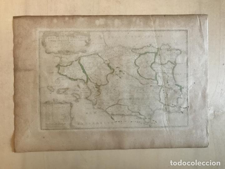 Arte: Mapa de España y Portugal, 1701. Nicolas de Fer/van Loon - Foto 12 - 190739606