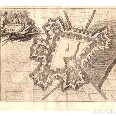 Arte: MAPA LE PLAN DE LA VILLE DE BREDA. HOLANDA. SIGLO XVIII. Lote 190921358
