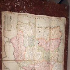 Arte: MAPA DE ESPAÑA Y PORTUGAL DE GRAN DIMENSIÓN , PUBLICADO EN LONDRES POR LAURIE & WHITTLE AÑO: 1808. Lote 191110057