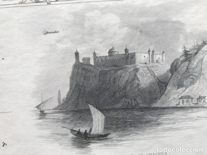 Arte: Mapa del istmo de Panamá (América central), ca. 1851. Tallis/Rapkin/Wrigtson y Warren - Foto 18 - 249539780