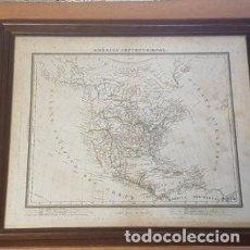 Arte: GRABADO DE PABLO ALABERN AMÉRICA SEPTENTRIONAL. Lote 191324132