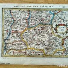 Arte: MAPA DE CASTILIA VETUS ET NOVA. Lote 191450088