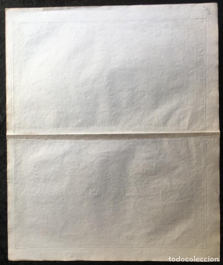 Arte: MAPA 1801 - Provincia SALAMANCA - CHARTA SALAMANTICAM - TOMÁS LÓPEZ / HOMANN - COLOREADO - Foto 9 - 192723845