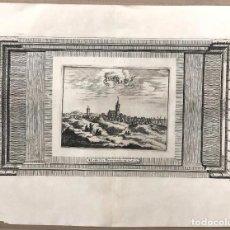 Arte: MAPA PAISES BAJOS. A. LEIDE. PIERRE VANDER. C. 1720. Lote 192979460