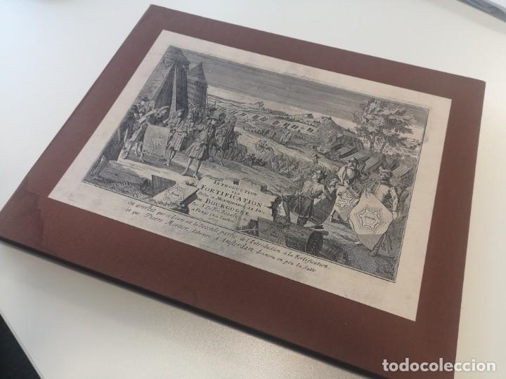 MAGNIFICO ESTUCHE CON 25 GRABADOS ORIGINALES DE NICOLAS DE FER - FORTIFICACIONES DE EUROPA - 1693 (Arte - Cartografía Antigua (hasta S. XIX))