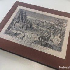 Arte: MAGNIFICO ESTUCHE CON 25 GRABADOS ORIGINALES DE NICOLAS DE FER - FORTIFICACIONES DE EUROPA - 1693. Lote 193714890