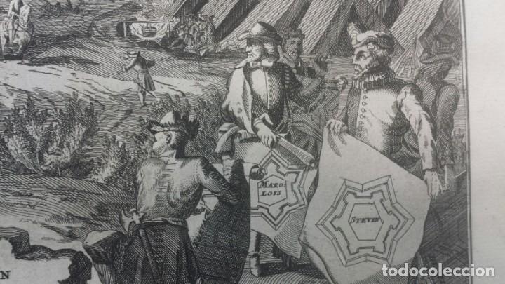 Arte: Magnifico estuche con 25 Grabados Originales de Nicolas de Fer - Fortificaciones de Europa - 1693 - Foto 5 - 193714890
