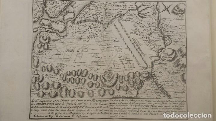 Arte: Magnifico estuche con 25 Grabados Originales de Nicolas de Fer - Fortificaciones de Europa - 1693 - Foto 6 - 193714890