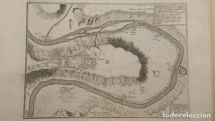 Arte: Magnifico estuche con 25 Grabados Originales de Nicolas de Fer - Fortificaciones de Europa - 1693 - Foto 7 - 193714890