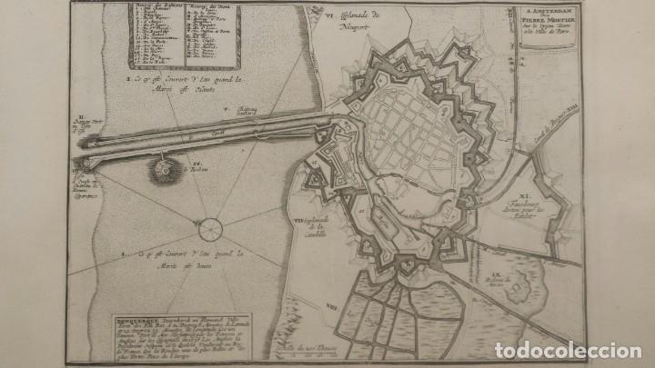 Arte: Magnifico estuche con 25 Grabados Originales de Nicolas de Fer - Fortificaciones de Europa - 1693 - Foto 8 - 193714890