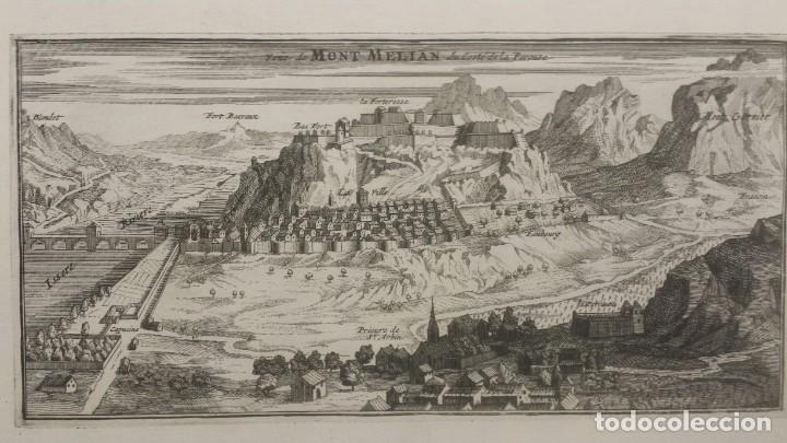 Arte: Magnifico estuche con 25 Grabados Originales de Nicolas de Fer - Fortificaciones de Europa - 1693 - Foto 10 - 193714890