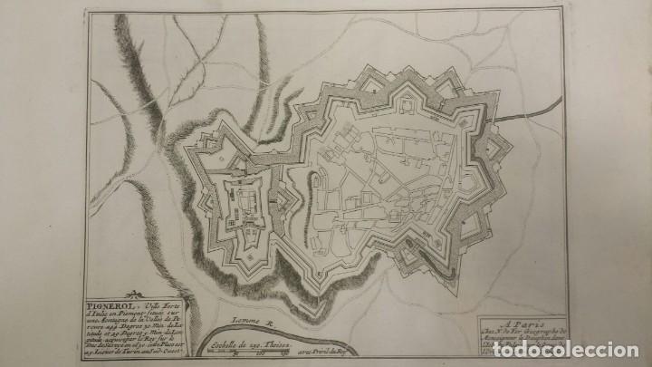 Arte: Magnifico estuche con 25 Grabados Originales de Nicolas de Fer - Fortificaciones de Europa - 1693 - Foto 12 - 193714890