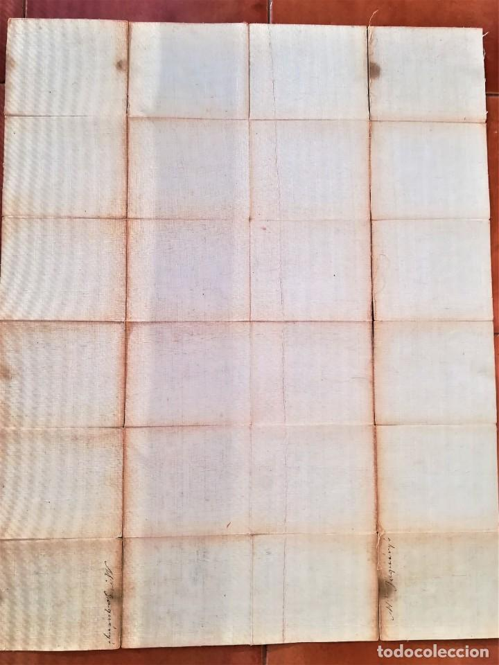 Arte: CARTOGRAFIA,ANTIGUO MAPA SIGLO XVIII,INGLATERRA Y ESCOCIA, AÑO 1789 DE ROBERT SAYER,LONDON.MILITAR - Foto 13 - 194103491