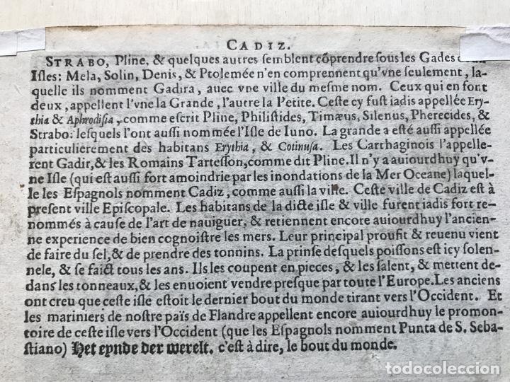 Arte: Mapa de Valencia, 1602. A.Ortelius - Foto 8 - 195035105