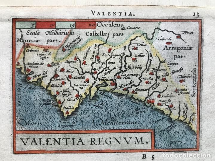 MAPA DE VALENCIA, 1602. A.ORTELIUS (Arte - Cartografía Antigua (hasta S. XIX))