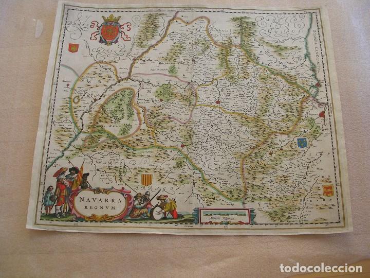 NAVARRA REGNUM. S. XVII (Arte - Cartografía Antigua (hasta S. XIX))