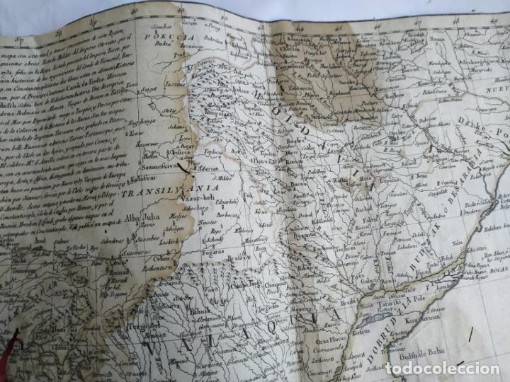 Arte: Mapa Tomas López Turquía Europea 1784 - Foto 3 - 196808921
