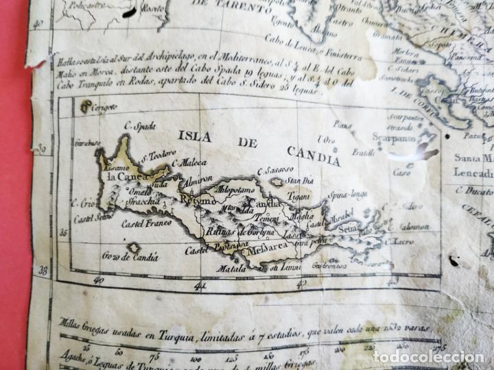 Arte: Mapa Tomas López Turquía Europea 1784 - Foto 4 - 196808921