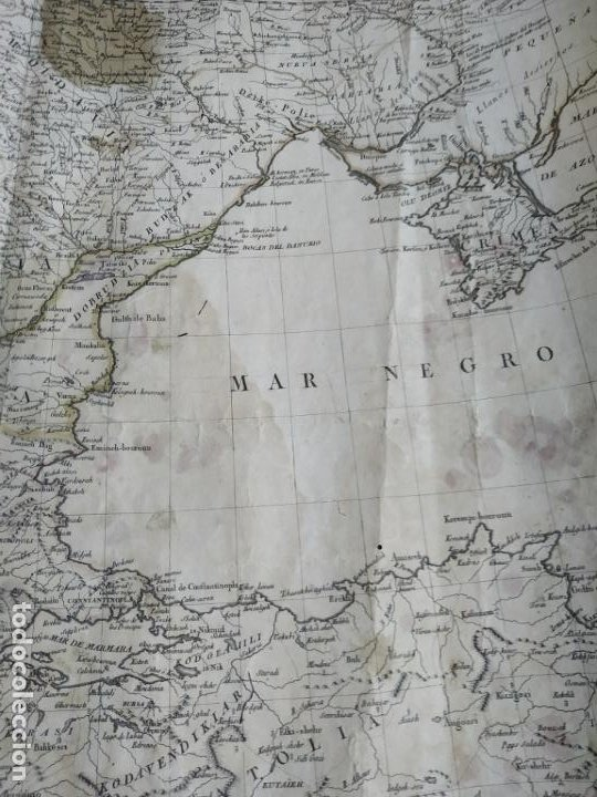Arte: Mapa Tomas López Turquía Europea 1784 - Foto 6 - 196808921