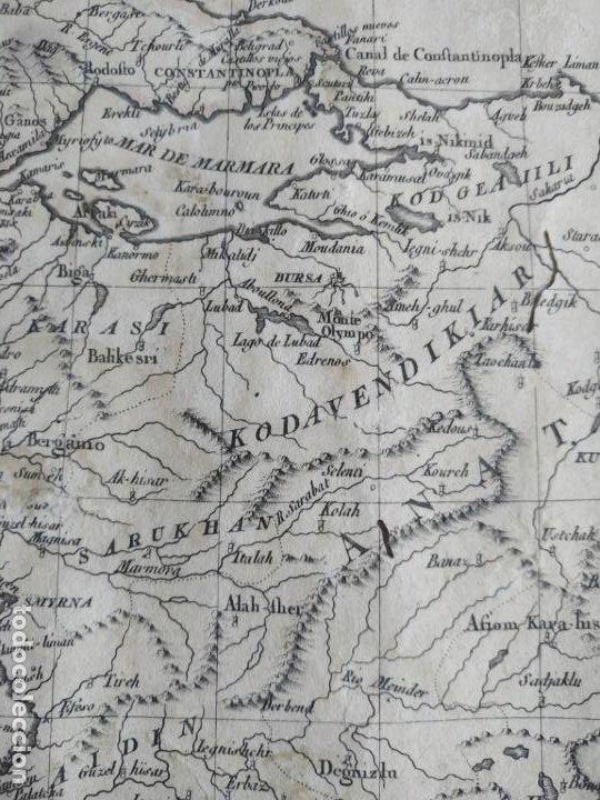 Arte: Mapa Tomas López Turquía Europea 1784 - Foto 7 - 196808921