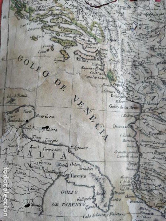 Arte: Mapa Tomas López Turquía Europea 1784 - Foto 8 - 196808921