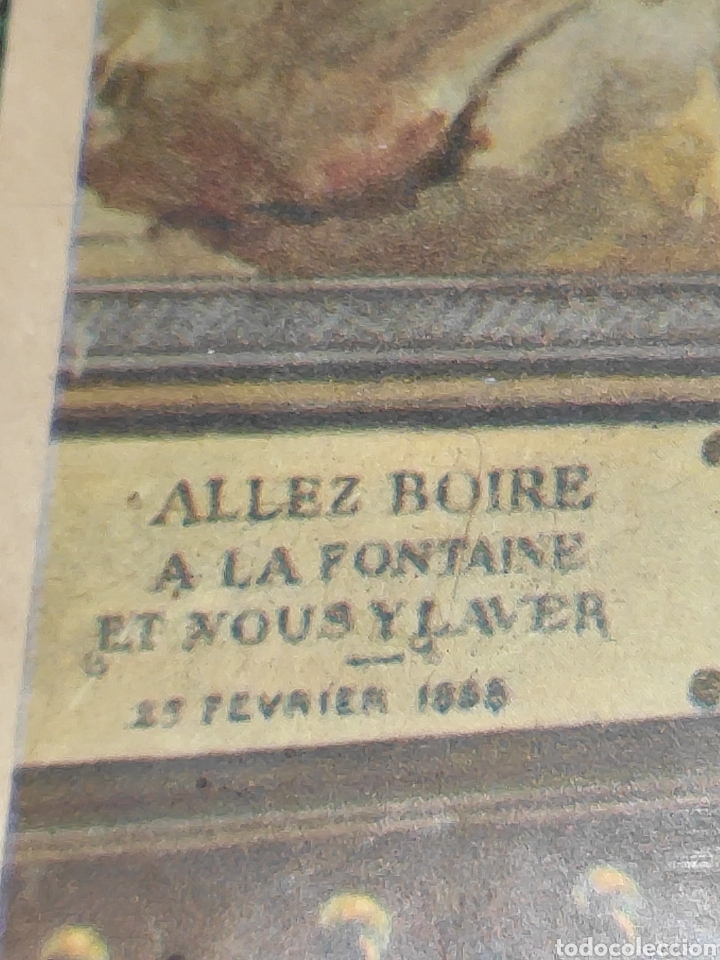 Arte: Antiguo cuadrito Lourdes - Foto 2 - 197430718