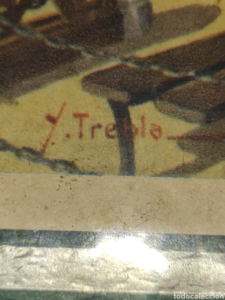 Arte: Antiguo cuadrito Lourdes - Foto 3 - 197430718