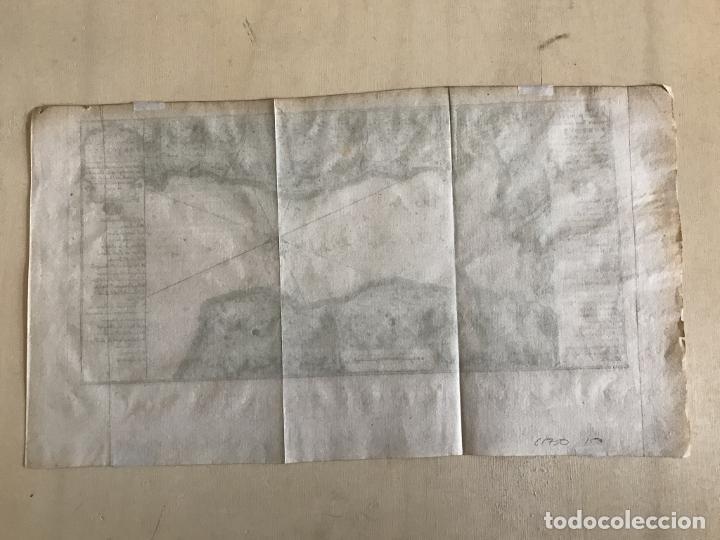 Arte: Mapa de la bahía de Portobelo (Panamá, America central), 1754. Bellin/Prevost/Schwabe - Foto 20 - 197634365