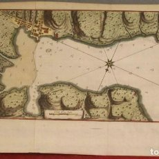 Arte: MAPA DE LA BAHÍA DE PORTOBELO (PANAMÁ, AMERICA CENTRAL), 1754. BELLIN/PREVOST/SCHWABE. Lote 197634365