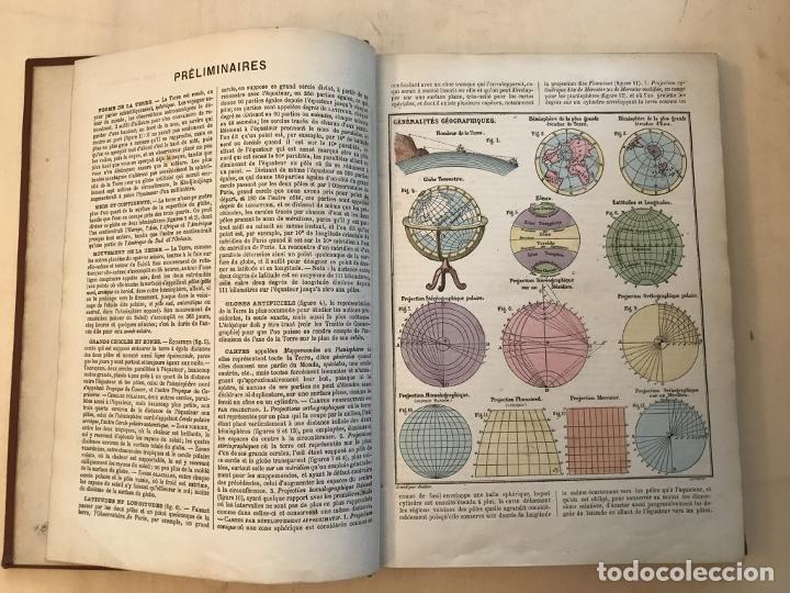 Arte: Atlas universel, hacia 1875. A. Pagès. Con 75 mapas a color - Foto 8 - 199376696